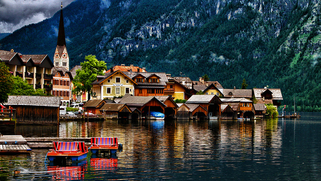 Hallstatt - The most beautiful places to visit in Austria