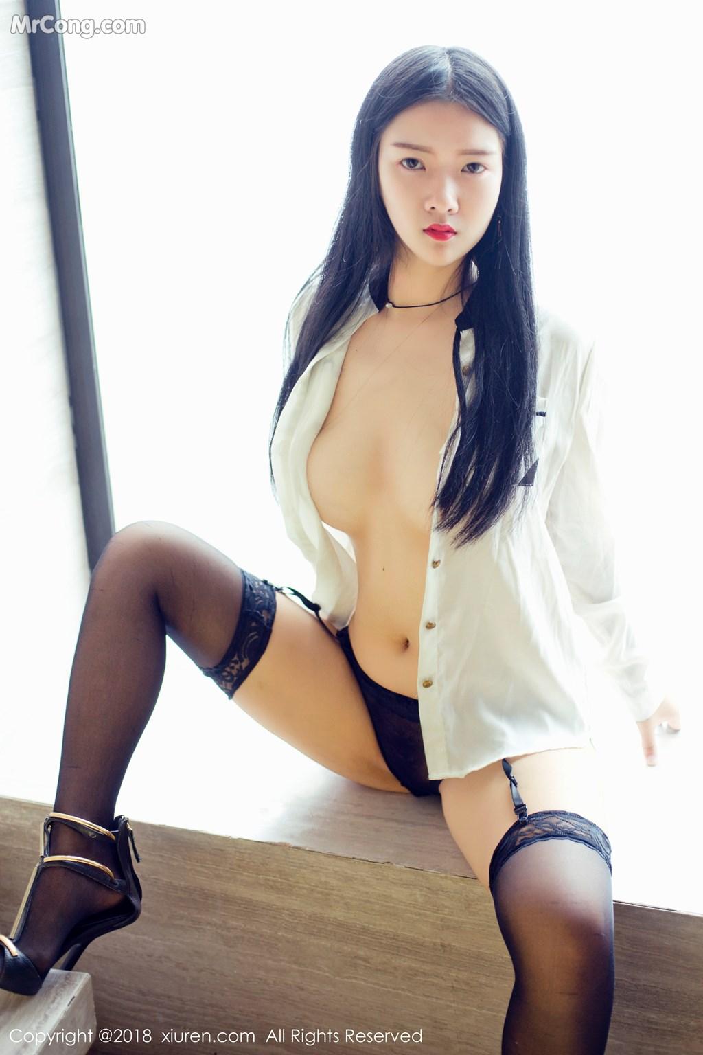 Image XIUREN-No.1008-Ling-Xi-Er-MrCong.com-008 in post XIUREN No.1008: Người mẫu Ling Xi Er (凌希儿) (44 ảnh)