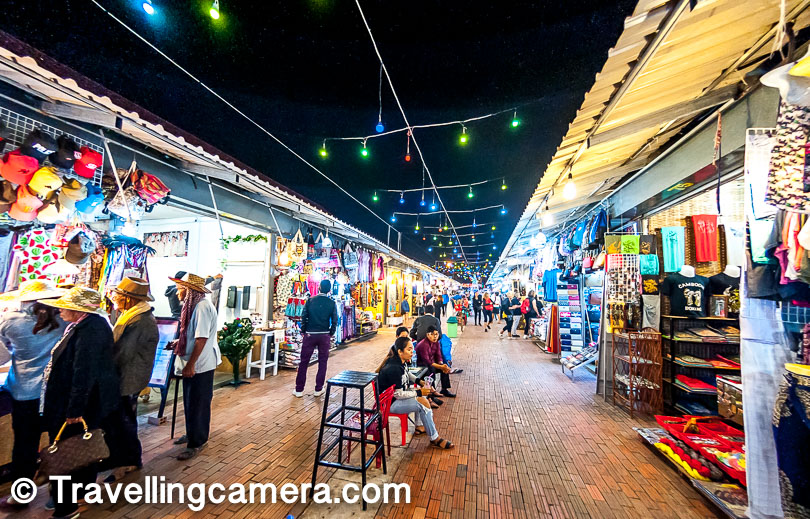 6. Night Markets & Pub streets of Cambodia are special, especially in Siem Reap. Almost every tourist in Siem Reap is found around Night Market or Pub Street.