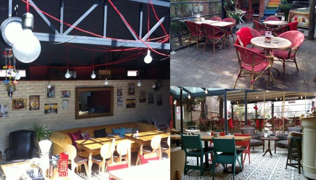 Kadın elinin dokunduğu cafe: Seratonin Cafe-İstanbul'da gidilecek yerler