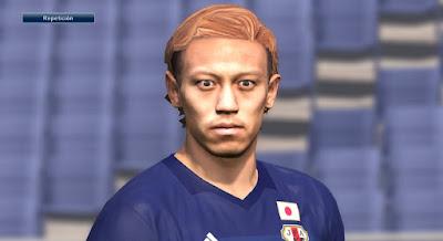 PES 2016 Keisuke Honda Face by Alejomono