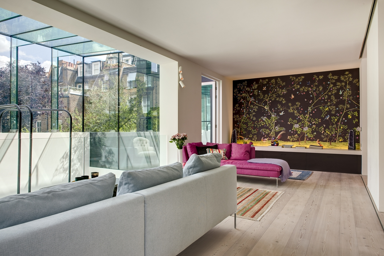 World Of Architecture: Modern London House: Souldern Road