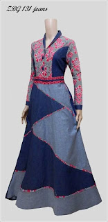 Model Baju Batik Gamis