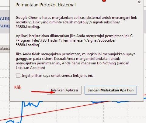 Jalankan aplikasi