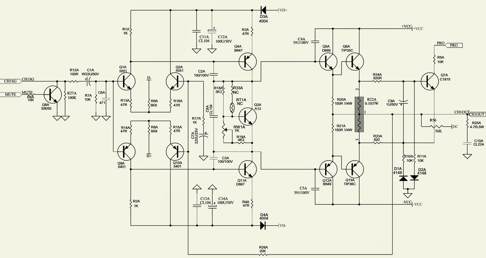 Bridging 4 Channel Amp Diagram Gmc Wiring Diagrams Infinity Ref 475a 3 2 Power Amplifier