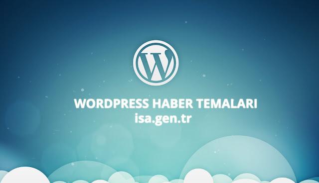 wordpress haber temaları