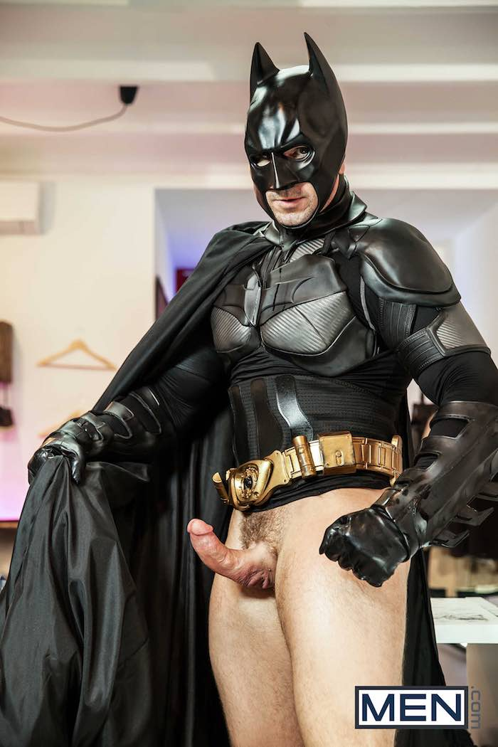 Are batman and robin spoof porno