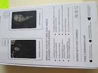 Verpackung hinten: LIHAO Iblazr LED Blitz Mini Flash für Smartphone und Kamera 4 Leds (Weiß)