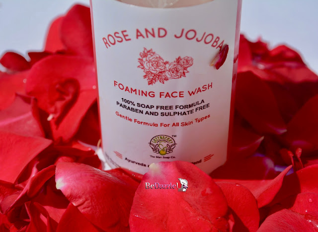 Rose and Jojoba Face wash