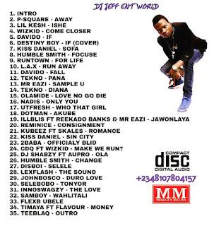 MIXTAPE: DJ Jeff - Ileke DownTownSide 1