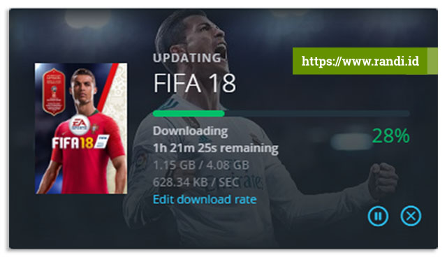 Update FIFA 18 World Cup Russia 2018 Siap Download