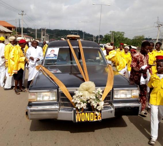 pastor ajidara burial abeokuta