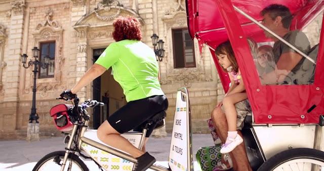 Passeio de bike pelo Velo Service em Bari