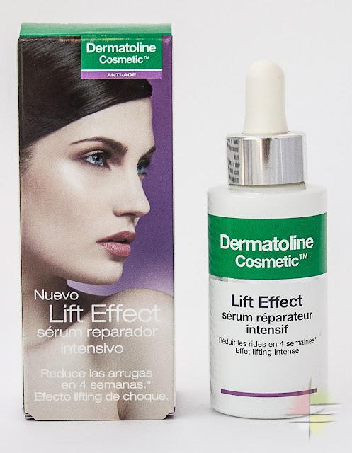 Nueva gama Anti-Age Lift Effect de Dermatoline Cosmetic Sérum