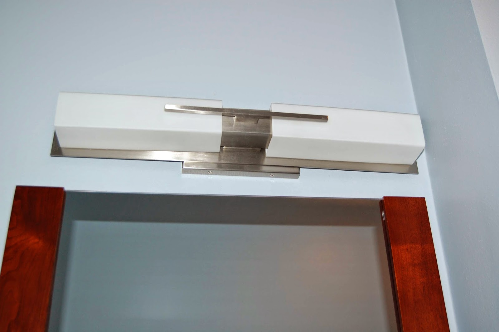 modern bathroom light wall sconce