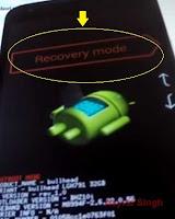recovery mode - LG Nexus 5X