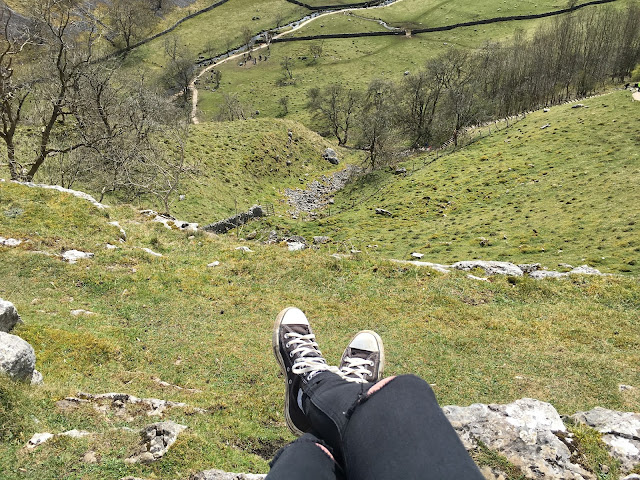The View From The Top Of Malham Cove