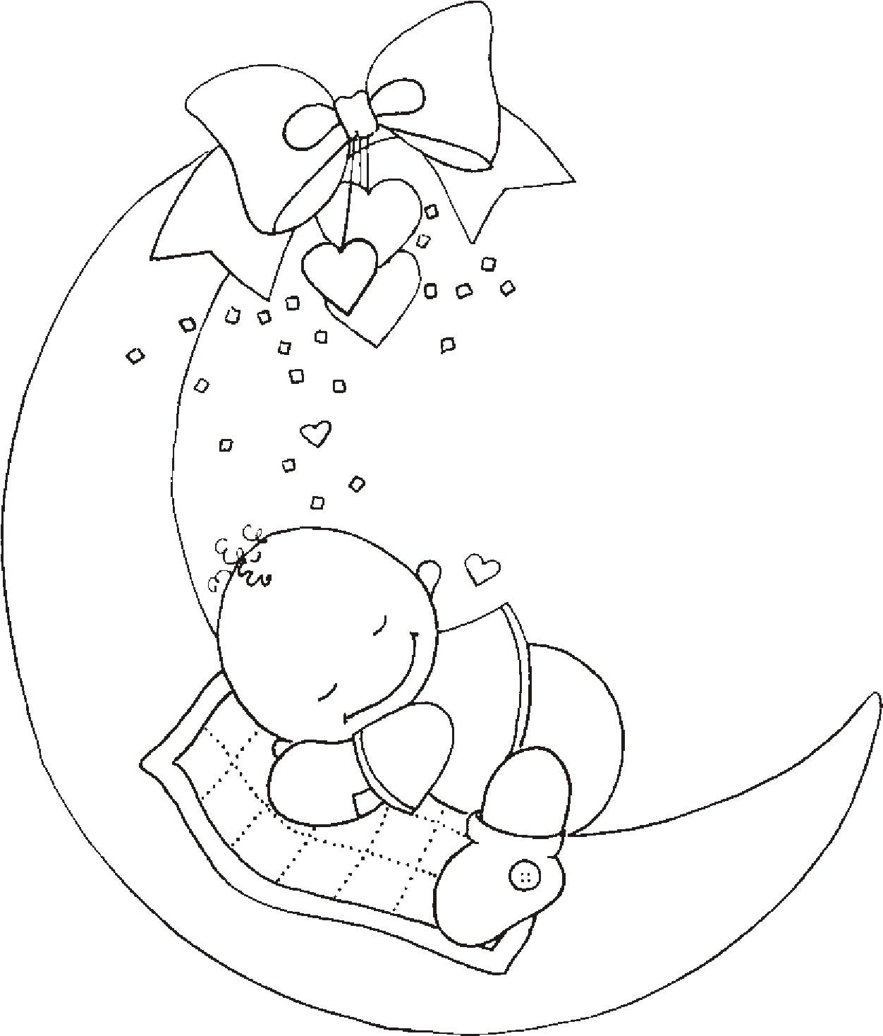 Днем рождения, рисунок с новорожденным своими руками