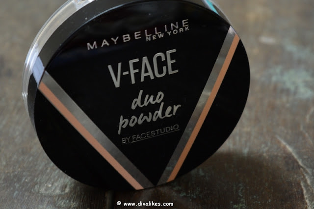Maybelline Face Studio V-Face Duo Powder Medium Dark Review