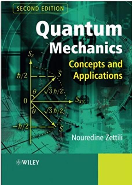 PDF BOOK: QUANTUM MECHANICS CONCEPTS AND APPLICATIONS