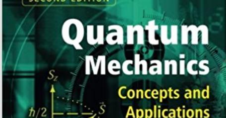 Quantum Mechanics Zettili Pdf