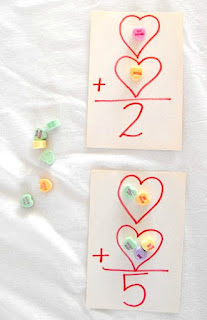 Hands-on Math with Conversation Hearts for Active Learners