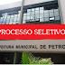 Processo Seletivo para área da educação pela Prefeitura de Petrolina-PE
