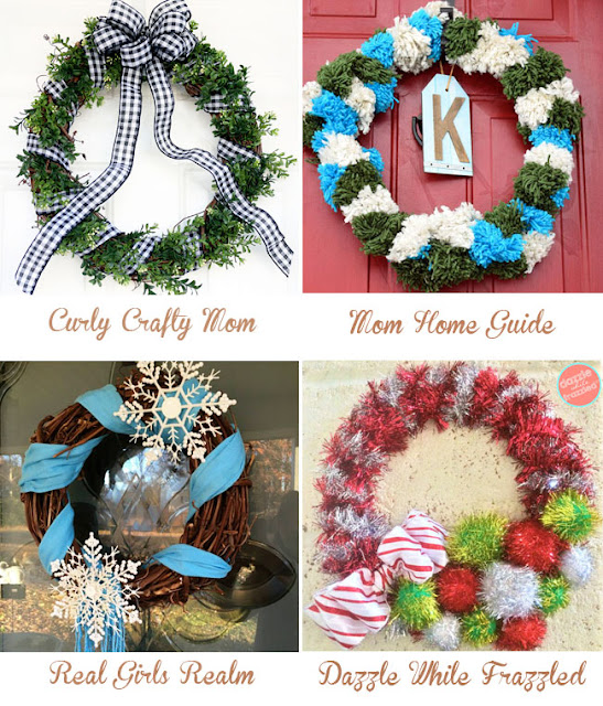 Welcome to 12 Months of Wreaths - December