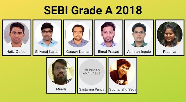 sebi grade a successful students
