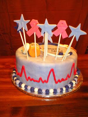 Beachy Cakes Nurse Cake