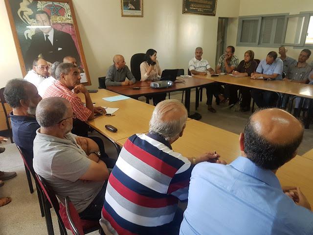 مديرية مقاطعة عين الشق تعقد لقاء تواصليا مع جمعيات أمهات وآباء وأولياء أمور التلاميذ