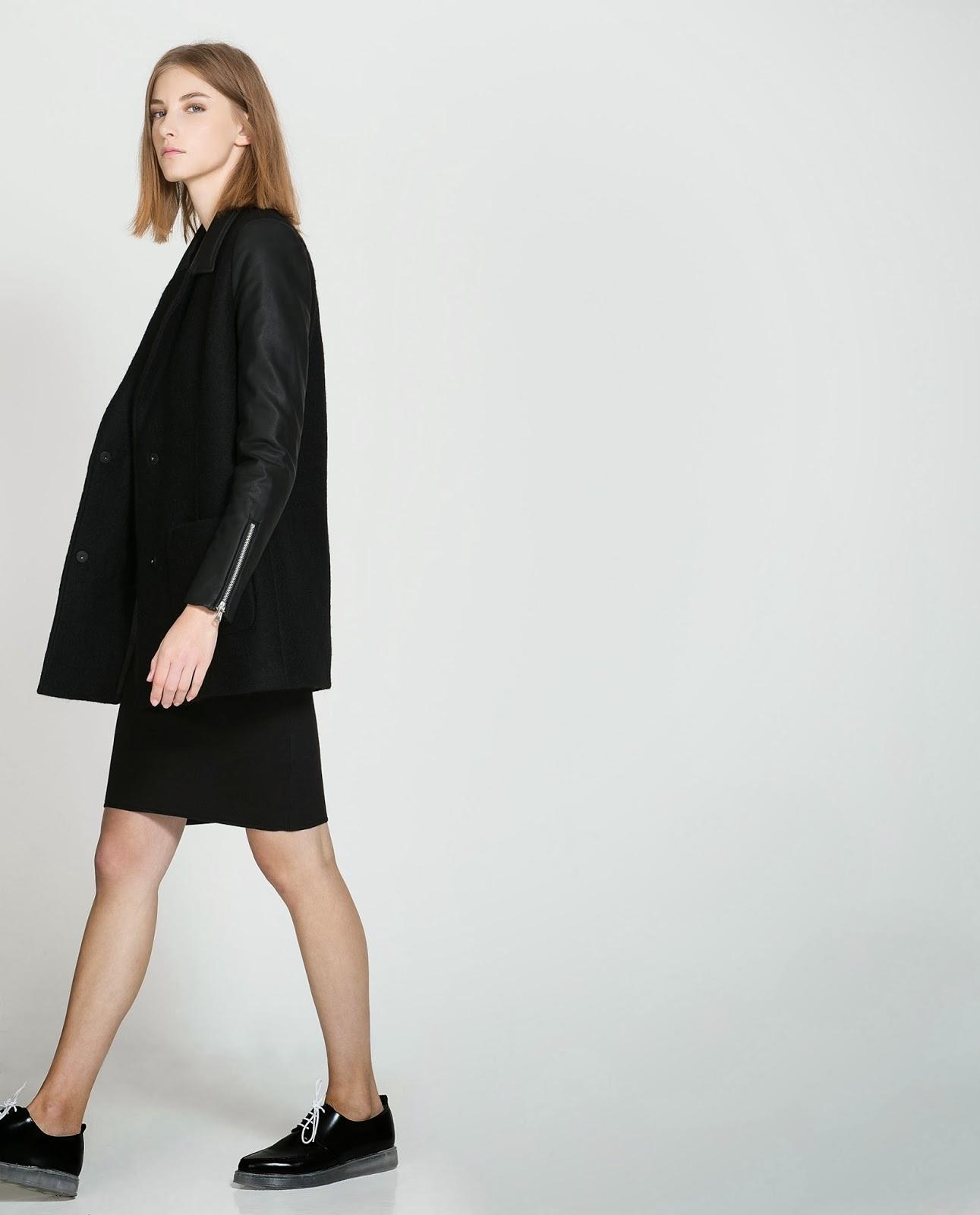 Dress Zara Fall Winter 2014 Coats Models