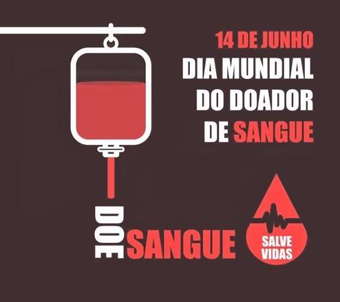 Colabore hoje é o Dia Mundial do Doador de Sangue