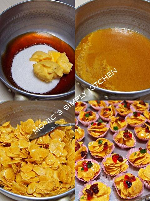 cara membuat cornflakes madu
