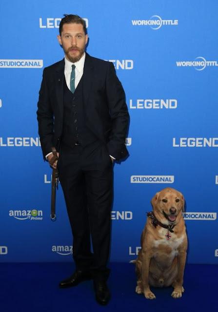 Tras su muerte, Tom Hardy le rinde homenaje a su perro Woody