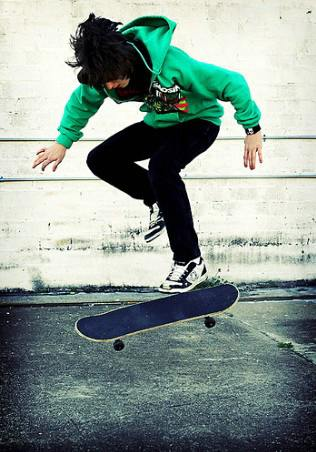 the skate is not a crime