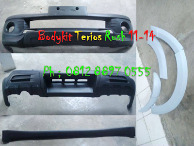 Bodykit Terios + Over Fender 12-15