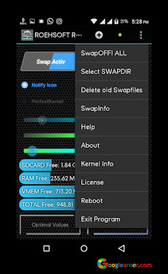 Roehsoft RAM Expander Increase RAM in Android