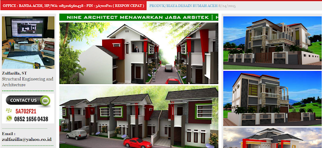 Jasa arsitek desain rumah Termurah dan Terbaik di Aceh