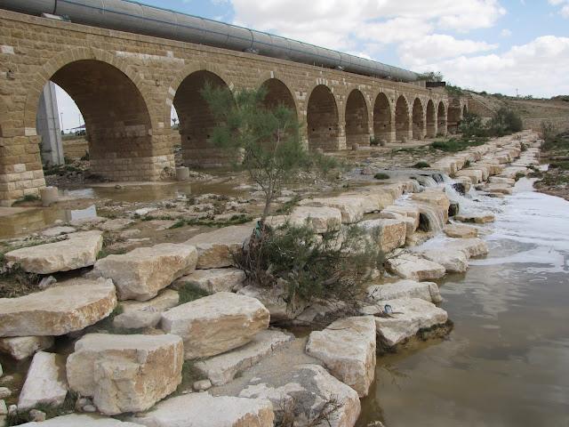 הגשר הטורקי - נחל באר שבע