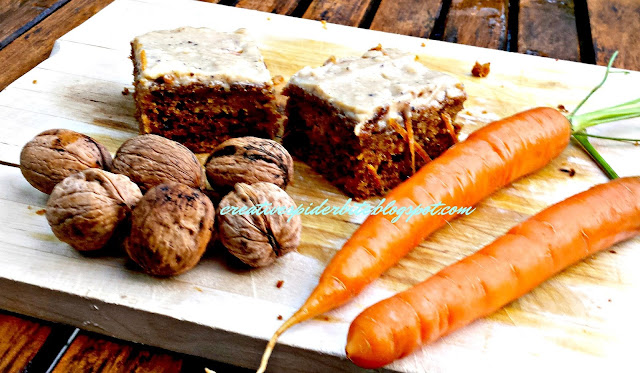 my favourite carrot cake recipe