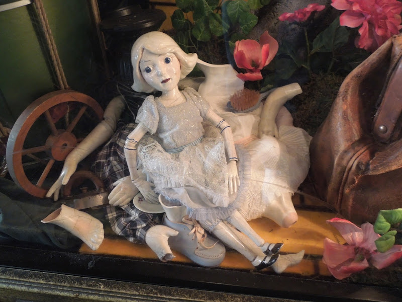 Oz Great Powerful China Girl Doll prop