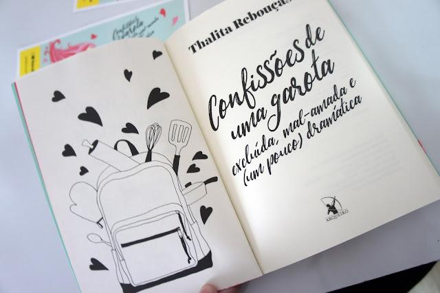 Confissões de uma garota mal amada foto do livro Thalita Rebouças