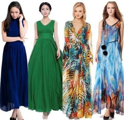 Best Chiffon Maxi Dresses