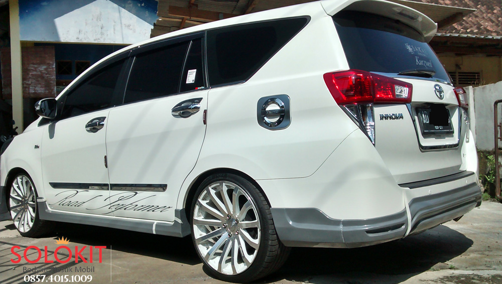 Bodykit All New Kijang Innova Grand Avanza Veloz Interior Plastik Reborn 2016 Solo
