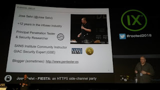 RootedCon 2018 - Jose Selvi - FIESTA: an HTTPS side-channel party