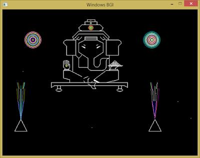 [Lập trình đồ họa máy tính cơ bản] Vẽ thần Voi Ganesha Ấn Độ