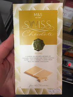 M&S Swiss Blonde Chocolate