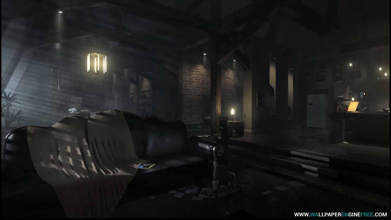 Deus Ex Mankind Divided Apartment Wallpaper Engine Download