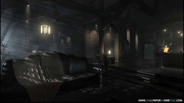 Deus Ex Mankind Divided - Apartment Wallpaper Engine